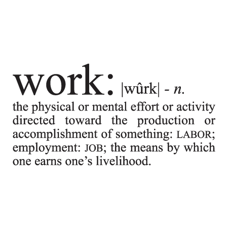 work-definition